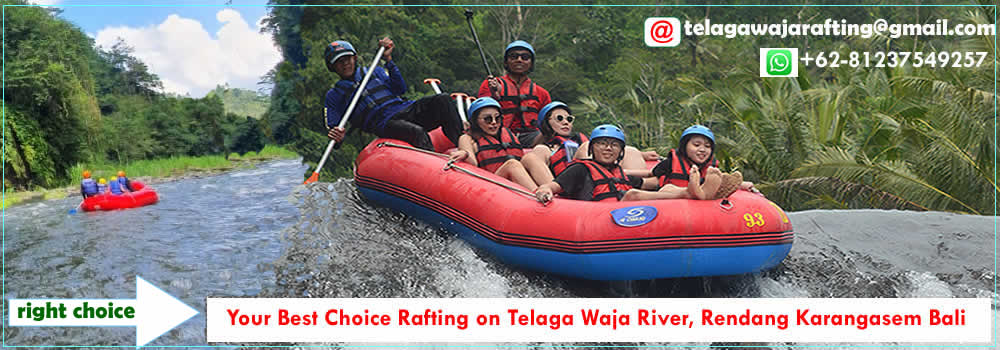 Telaga Waja White Water Rafting